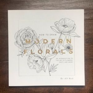 Other - Draw Modern Flowers 📖 Book